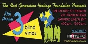10th Annual Three Blind Vines Franklin TN