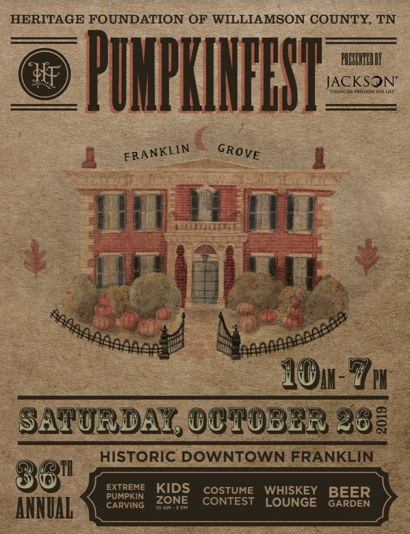 Pumpkinfest, a fall festival in Franklin, TN, family events, kids activities, restaurants, shopping, fun family events and more.