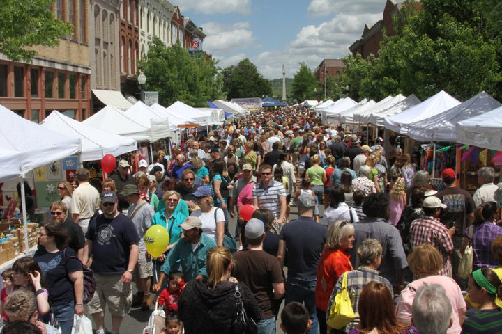 Main Street Festival in Franklin, TN, Downtown Franklin restaurants, shopping, kids activities and family events.