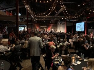 The 2019 Sizzle Awards Gala, celebrating the best businesses in Williamson County, TN, held at The Factory at Franklin.