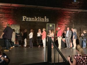 FranklinIs 2019 Sizzle Awards Gala, celebrating the best businesses in Williamson County, TN, the event was held at The Factory at Franklin.