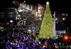 Franklin, Tennessee Christmas tree lighting, historic downtown Franklin events, music and entertainment for the whole family!