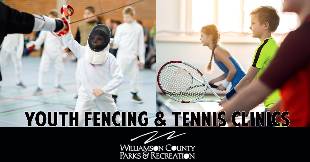 Kids activities in Brentwood, TN and Franklin, TN at WCPR, fencing and tennis, park events and more!