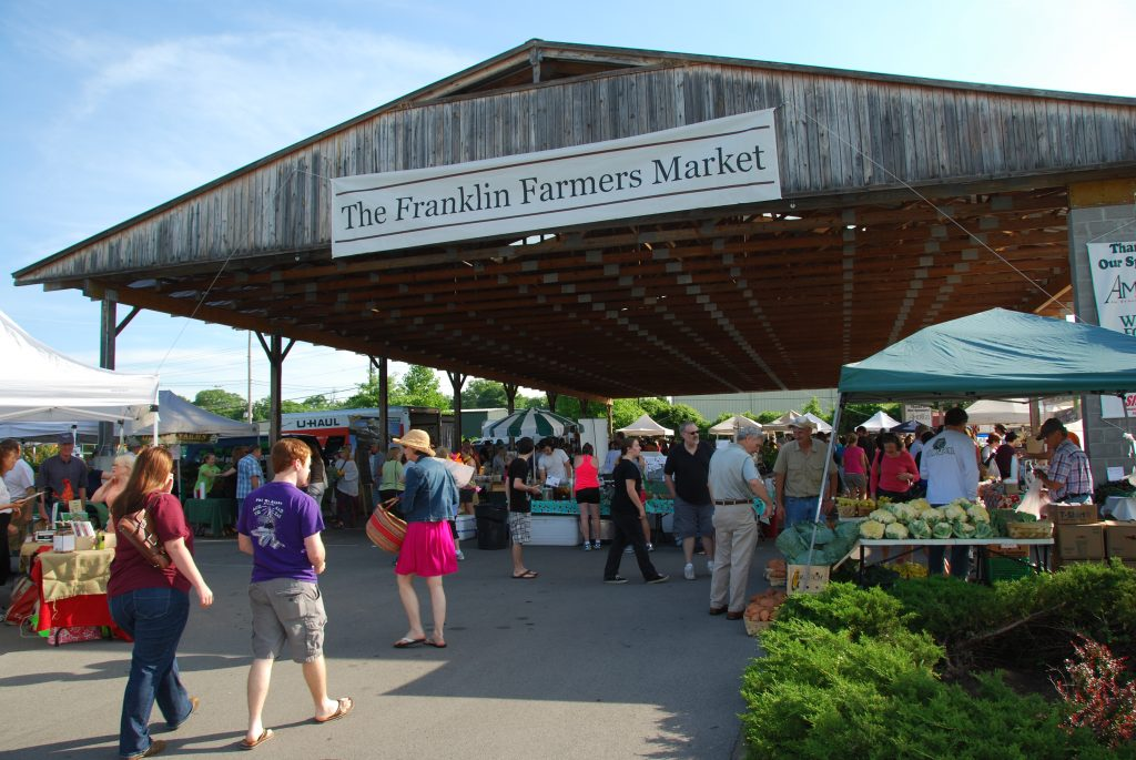 Thinks to Do in Downtown Franklin, TN - Franklin Farmers Market