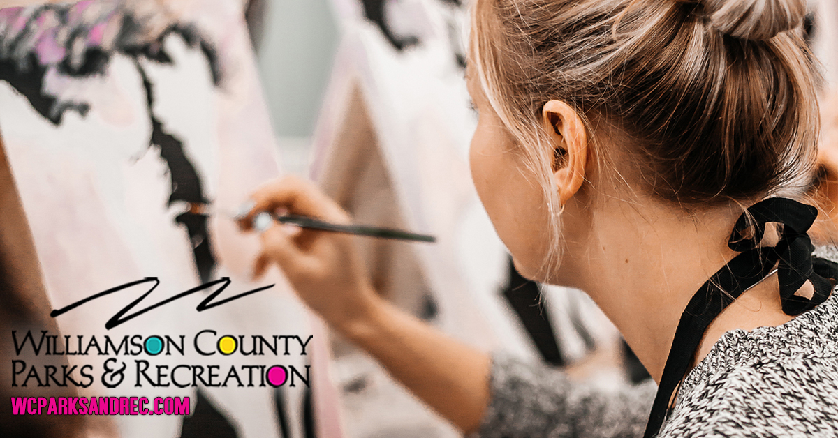 Woman painting, art classes, adult and kids activities in Franklin, TN, Brentwood and Williamson County, TN.