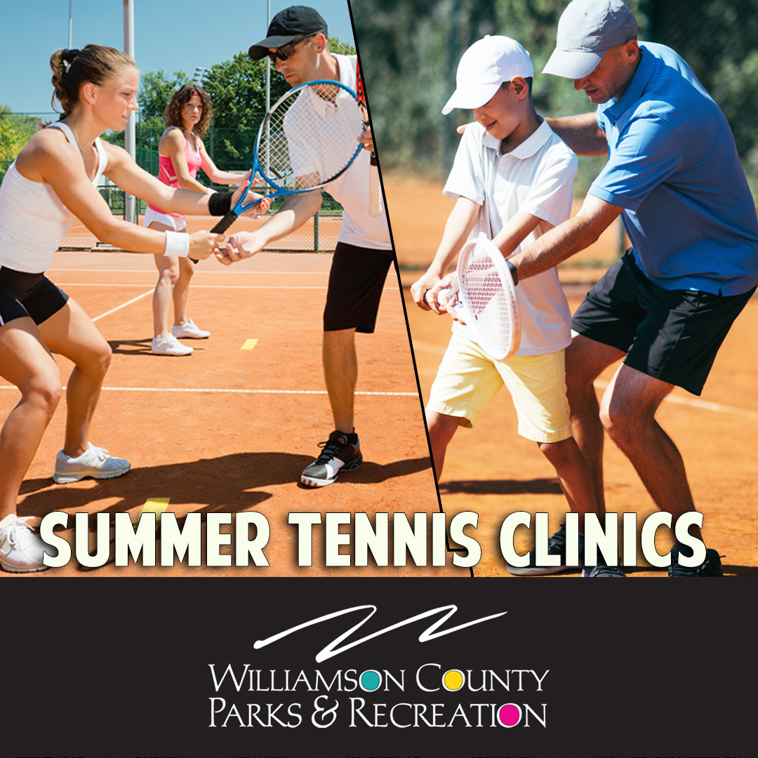 Summer tennis clinics in Franklin, TN, Brentwood, TN and Spring Hill, TN for youth and adult.