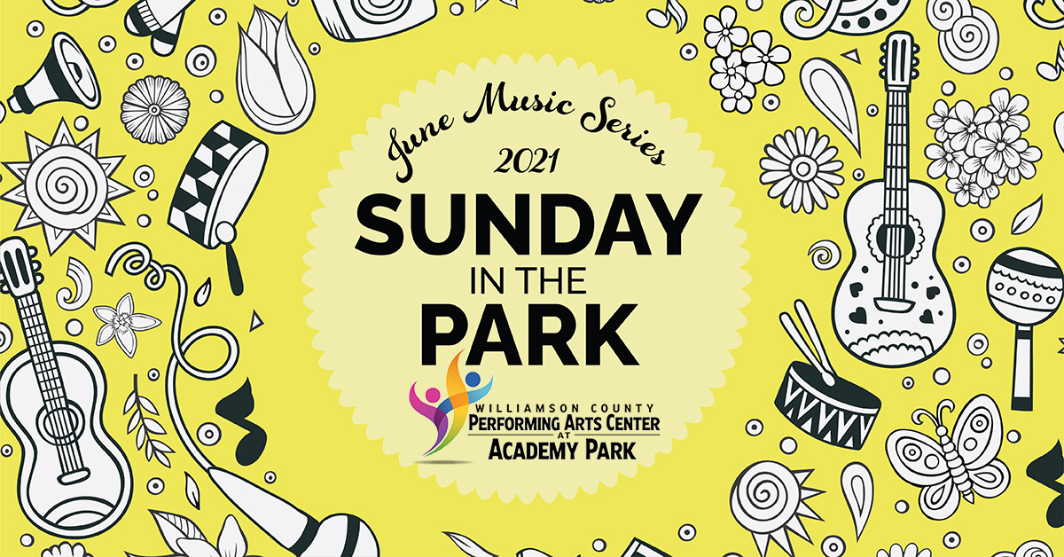Sunday in the Park, music event in Franklin, TN.