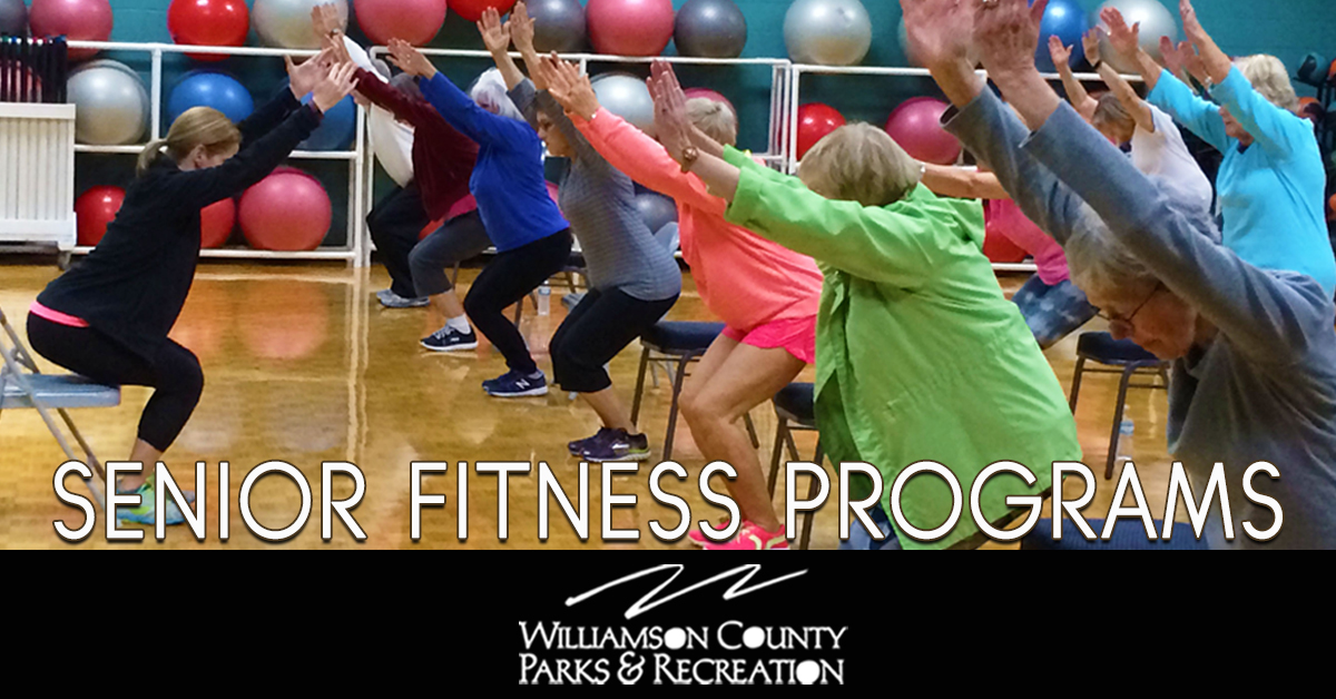 WCPR Department hosts a variety of programs at recreation centers across Williamson County for seniors of all ages and activity levels including art, fitness, nature and sport programs.