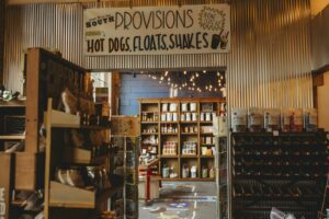 A shop in downtown Franklin, TN, shopping in Franklin at Fork of the South.