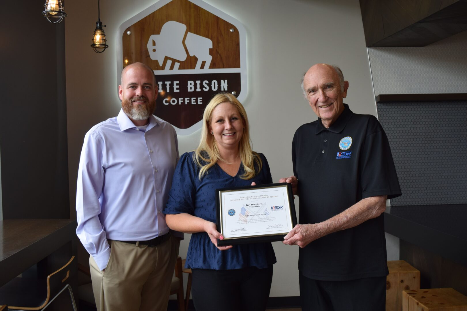 Franklin, TN Community - Local Employee Honored with Patriotic Award