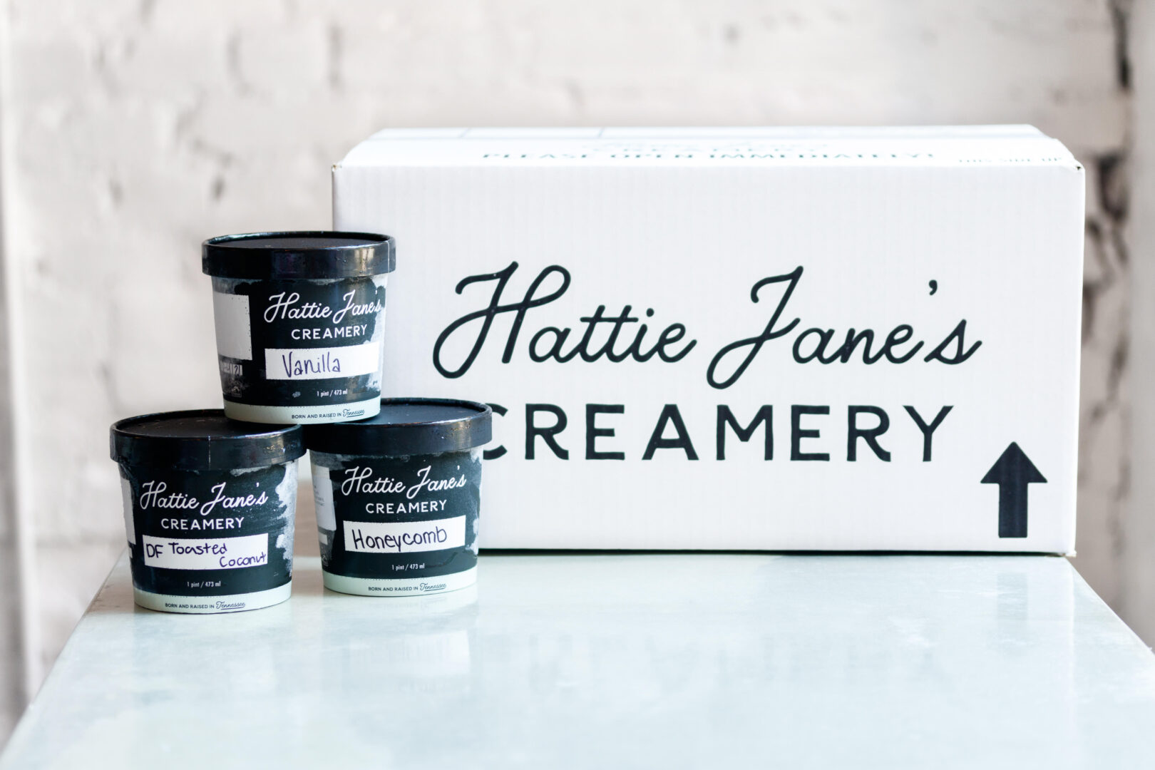 Hattie Jane's Creamery, ice cream shop in Franklin, TN with 3 other Middle Tennessee locations, now ships nationwide!