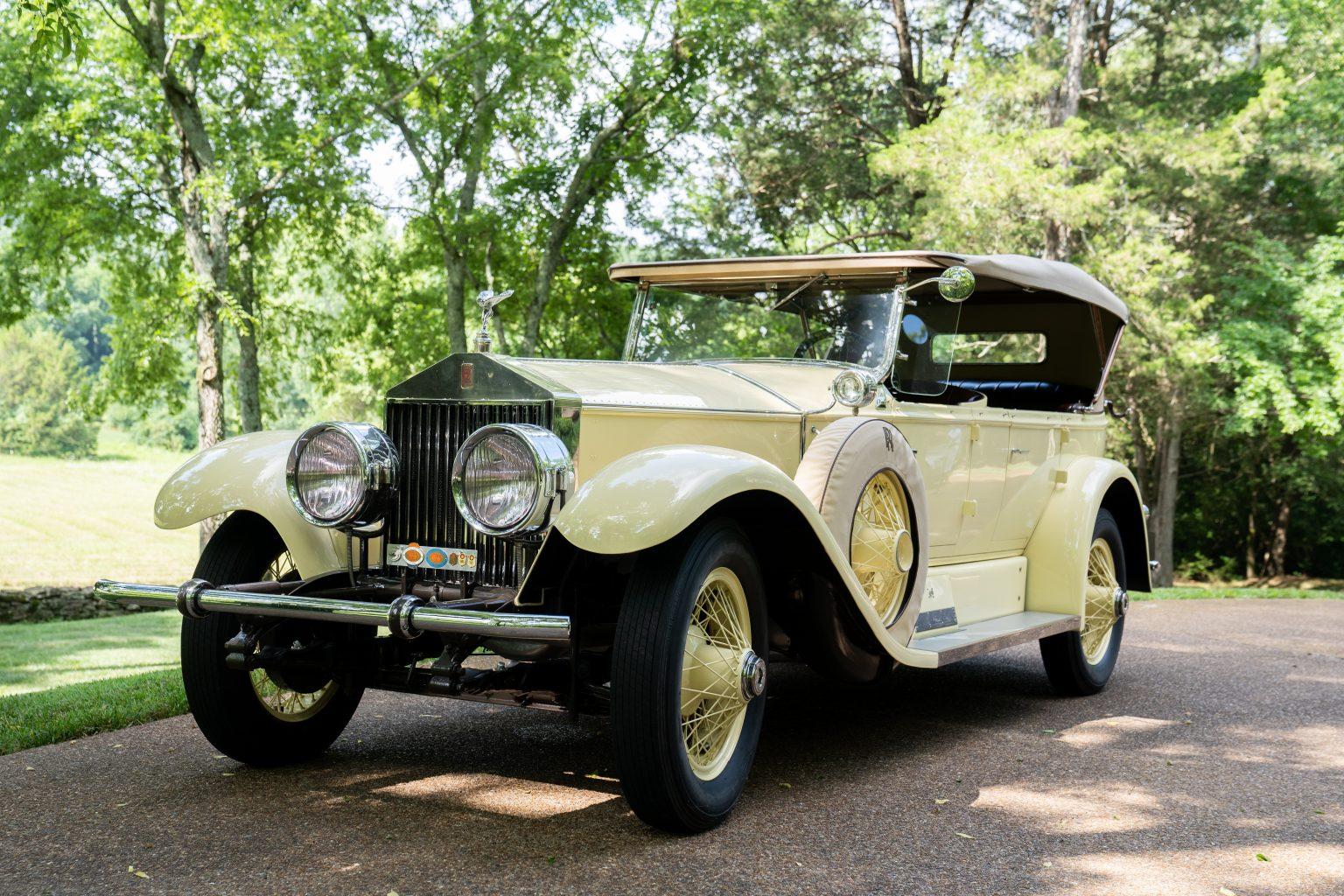 A classic car at the Cheekwood Classic. Car Show in Nashville, TN
