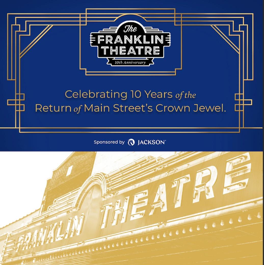 Franklin Theatre 10th Anniversary Logo