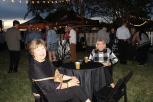 People enjoying the Franklin, TN event Bootlegger's Bash which featured live entertainment, Southern cuisine and local spirits.