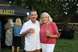 Franklin, TN event Bootlegger's Bash featured live entertainment, Southern cuisine and local spirits.