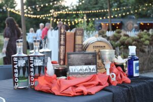 Franklin, TN event Bootlegger's Bash featured Southern cuisine, local spirits and live entertainment - Corsair photo.