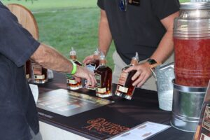 Franklin, TN event Bootlegger's Bash featured live entertainment, Southern cuisine and local spirits Davidson Reserve photo.
