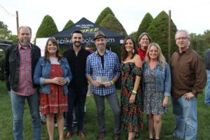 Franklin event Bootlegger's Bash featured Southern cuisine, local spirits and live entertainment - group photo.
