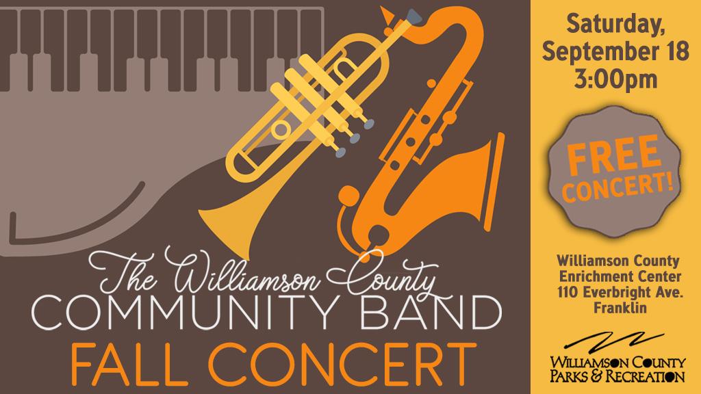 Franklin TN Event Community Band Fall Concert