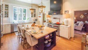 Kitchen in Franklin's Historic Watson House 4