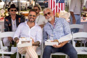 Chukkers for Charity Franklin Event, Gabe LaDuke and John Dyke