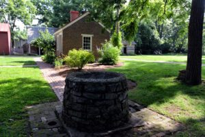 The Carter House from well
