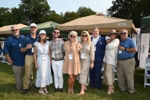 Buck Madden, Barry Owen, Carol Christensen, Chip…Neal Clayton - Chukkers for Charity Event Franklin TN