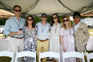 Chukkers for Charity Franklin, TN event group photo, Cook and Mary Brette Wylly, Porter Meadors, Grah…d Jack Jeong