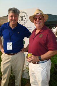 Damon Byrd and John Menefee at Chukkers for Charity in Franklin, Tenn.