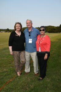 Debbie Chadwick, Bill Torrence and Cyndi Torrence - Chukkers for Charity Franklin Event.