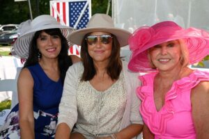 Dina Pew, Cathi Cook Aycock and Becky Grimaldi - Chukkers for Charity Franklin, TN Event.