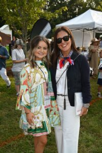Ellie Jackson and Nina Lindley - Chukkers for Charity Event in Franklin, TN.