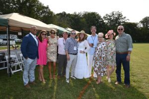 Group Photo at Franklin TN Chukkers for Charity Event