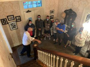 Franklin Ghost Tours at The Lotz House Downtown Franklin, TN.