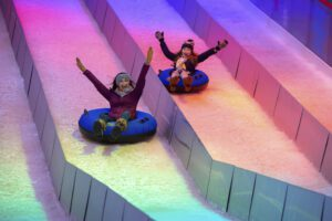 Family Holiday Events Nashville Ice Tubing - A Country Christmas at Gaylord Opryland Nashville.