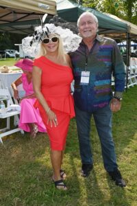 Jackie and Barry Alexander at Franklin TN event, Chukkers for Charity.