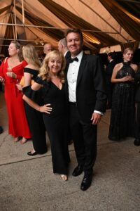 Jennifer and Jamie Parker Heritage Ball Franklin TN