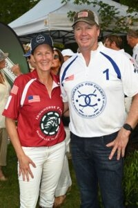 Lexie and James Armstrong - Chukkers for Charity event in Franklin, TN.