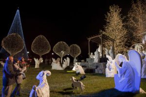 Nashville Event Nativity on Magnolia Lawn at Gaylord Opryland