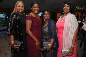Pamela Wallo-Dover, Kim Menifee, Carolyn Wall and…a McLemore Heritage Ball Franklin TN