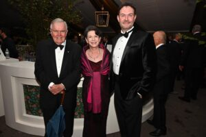 Rod and Kay Heller and Matt Logan Franklin TN Heritage Ball