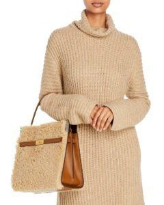 Six Fall:Winter Bag Trends Furry Bags Tory Burch