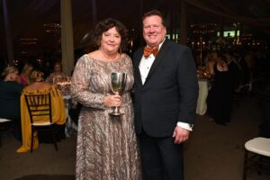 Sondra Morris and David Garrett Franklin Heritage Ball