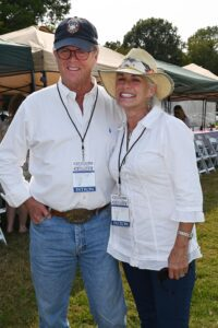 Tom and Eleanor Menefee Warriner at Chukkers for Charity Event in Franklin, TN.