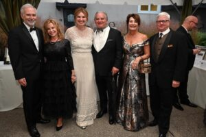 Trent and Bethni Hemphill, JoEllen and Chuck McD…Greg Flittner Heritage Ball Franklin